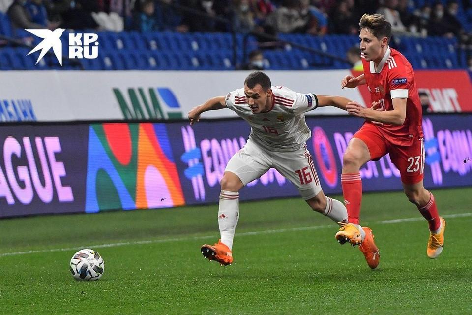 Россия с Венгрией провела третий матч в октябре.