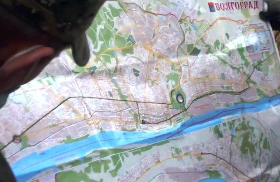 Фото -скрин видео ФСБ.
