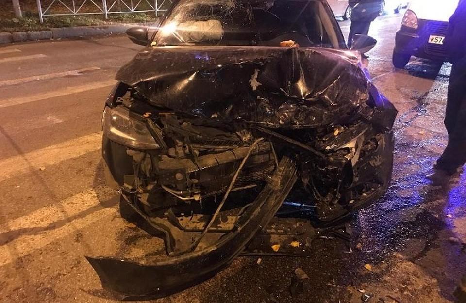 Автомобили серьезно пострадали в ДТП. Фото: ГУ МВД по Пермскому краю.