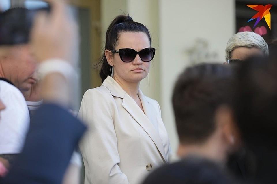 Светлана Тихановская находится в розыске.