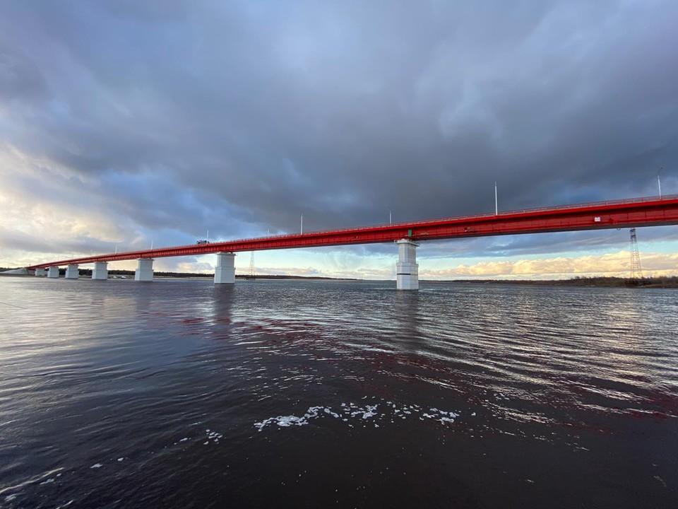 На Ямале открыт автомобильный мост через реку Пур, построенный при содействии ПАО «Транснефть». Фото - ПАО «Транснефть».
