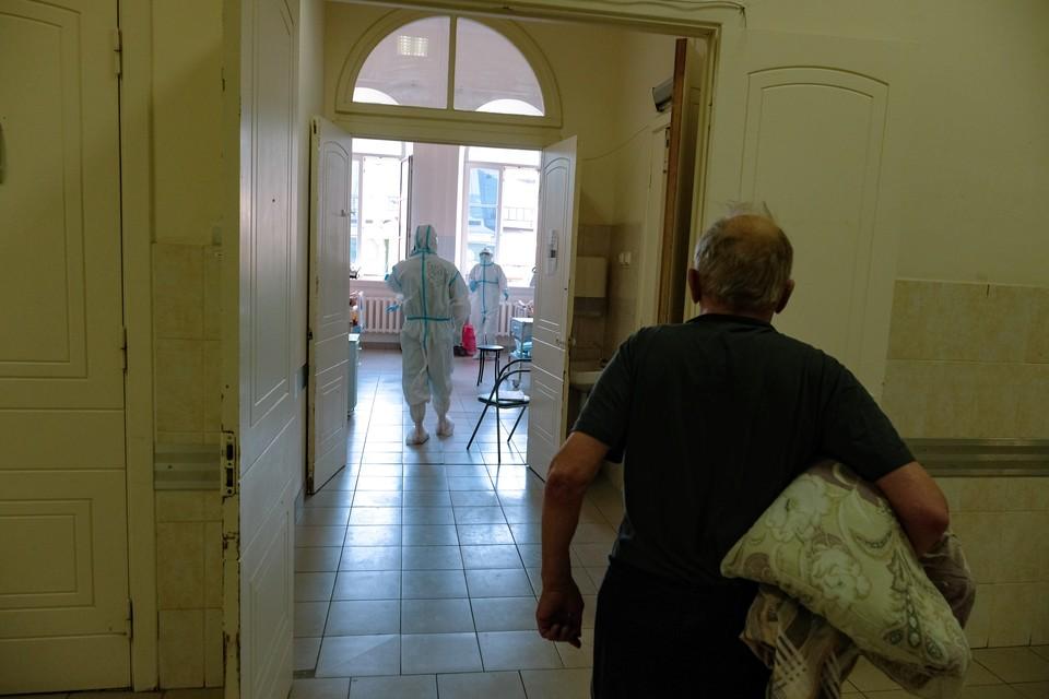 Пока больницы Санкт-Петербурга справляются с наплывом пациентов.