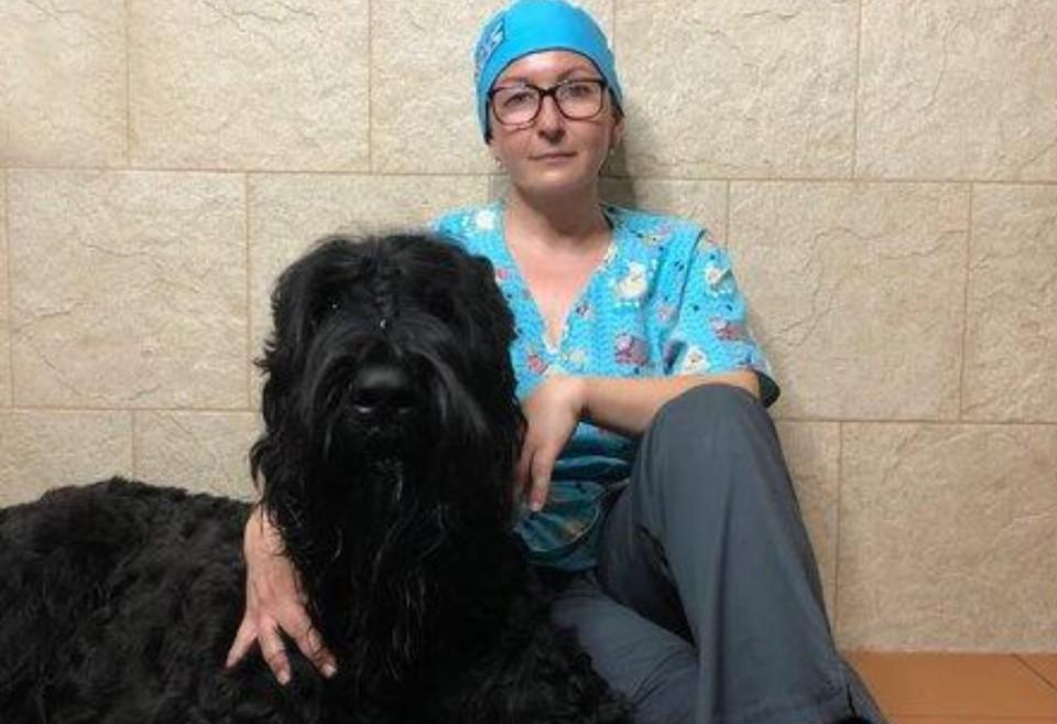 Татьяна Чистилина с одним из своих пациентов. Фото: личный архив.
