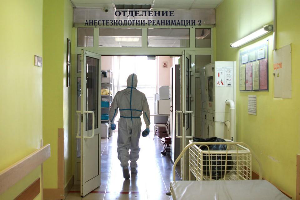 В стационарах проходит лечение 2731 житель области с COVID-19.