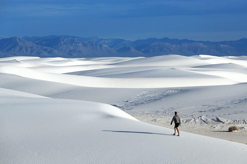 Национальный парк Уайт Сэндс в штате Нью-Мексико