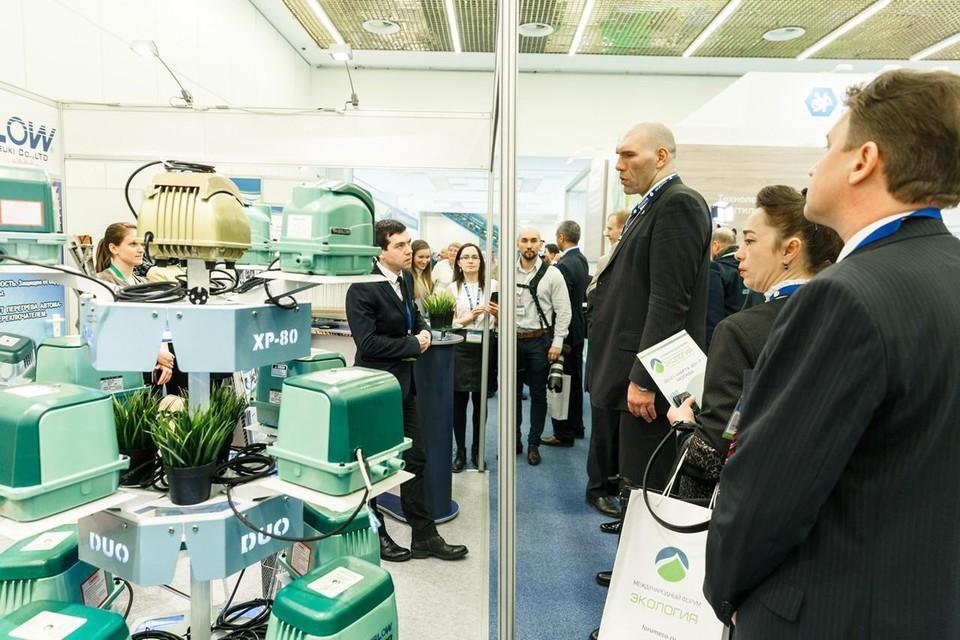 В выставочном пространстве форума свои стенды разместят российские компании, ориентированные на охрану окружающей среды и устойчивое экологическое развитие