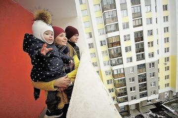 Резкое увеличение объемов ввода жилья произошло в сентябре