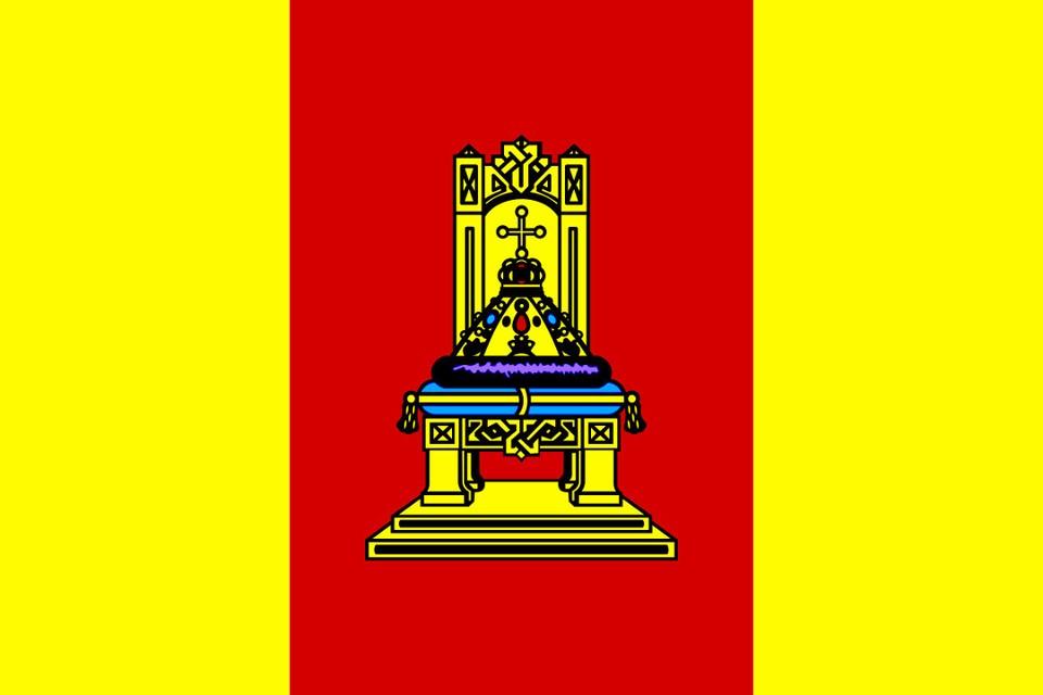 Флаг Тверской области.