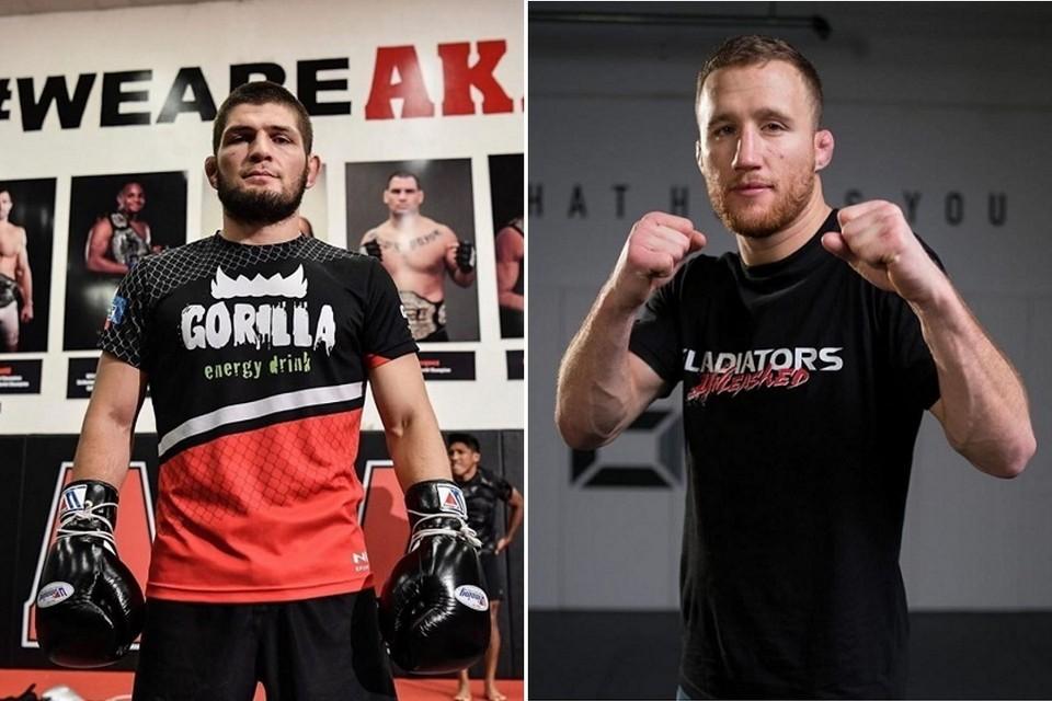 Бой Хабиб Нурмагомедов — Джастин Гэтжи, пройдет 24 октября на UFC 254