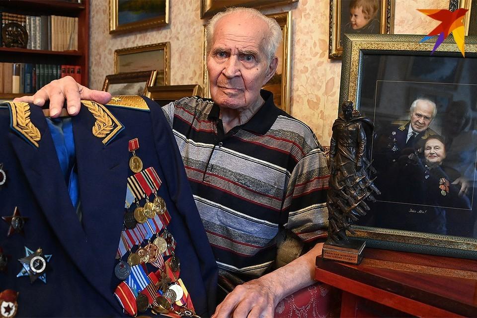 Алексею Никифоровичу Рапоте было 98 лет