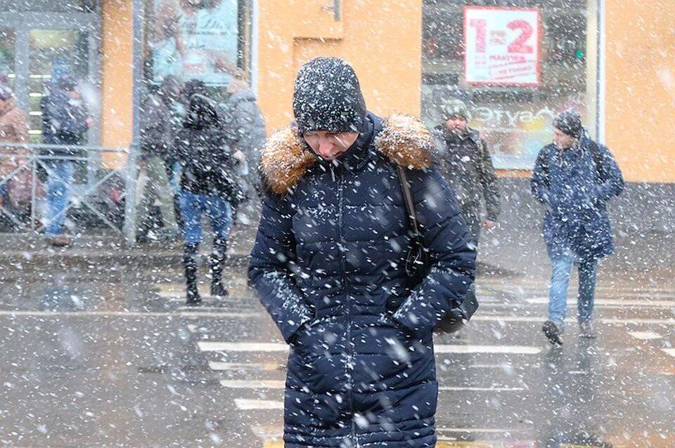 Экстренное предупреждение МЧС Приморья: сильный ветер и снег с дождем