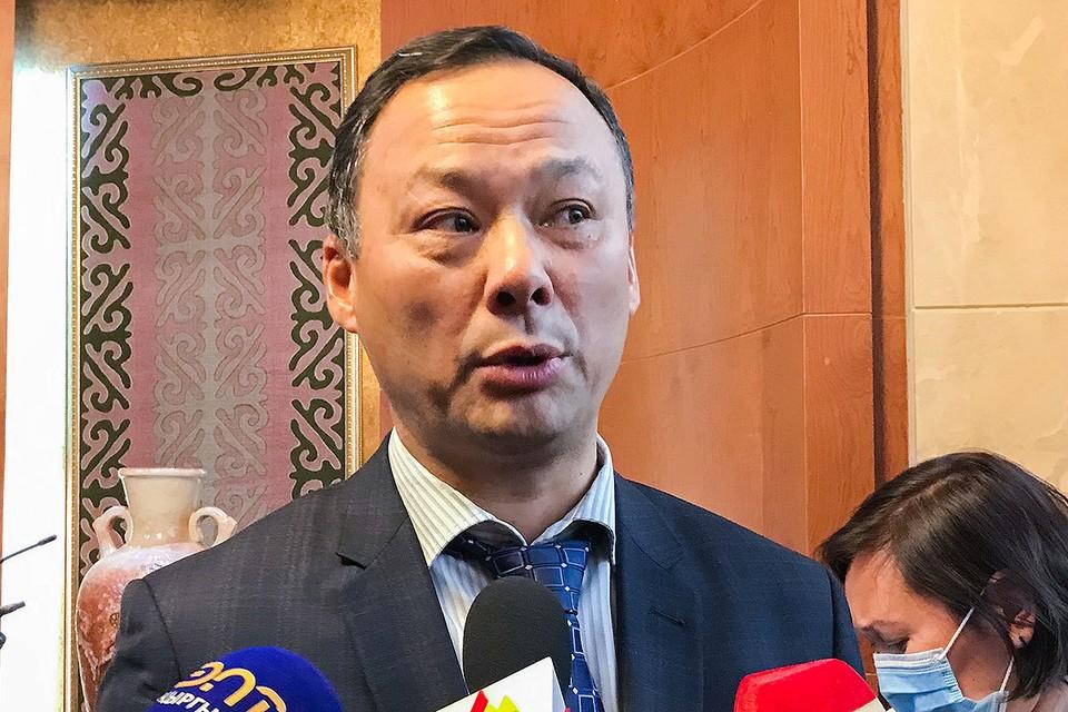Министр иностранных дел Киргизии Руслан Казакбаев. Фото: Михаил Егиков/ТАСС