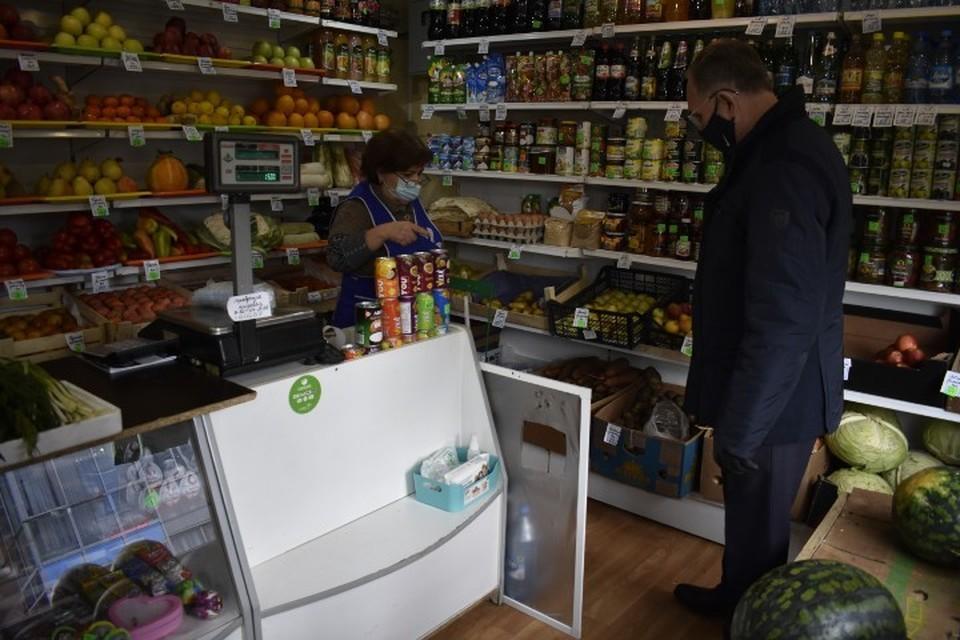 Журнал термометрии в большинстве торговых точек не ведется Фото: администрация Красноярска