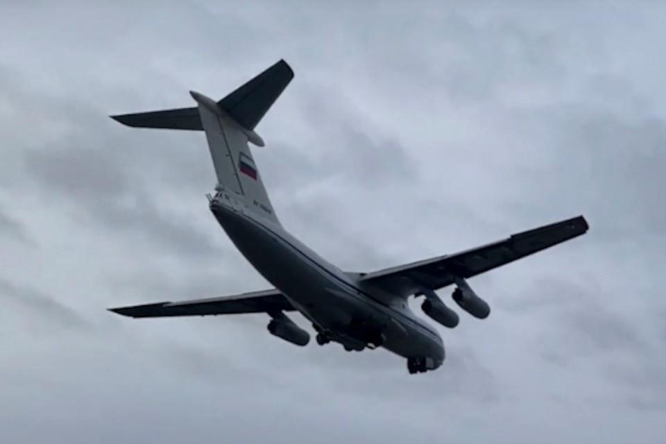 В Тверской области прошли учебные полеты Ил-76. Фото: сайт Министерства обороны РФ/mil.ru.