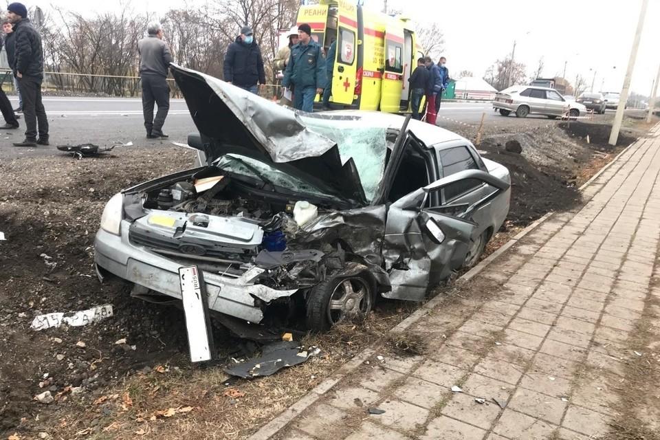В ДТП в Липецкой области пострадали 5 человек