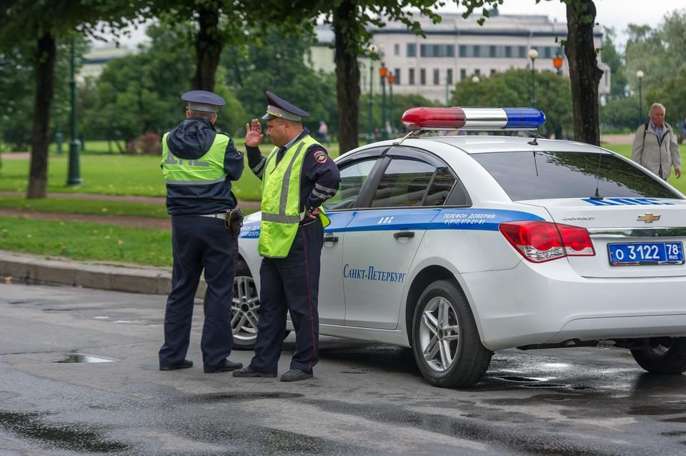 Полицейским удалось задержать лихача