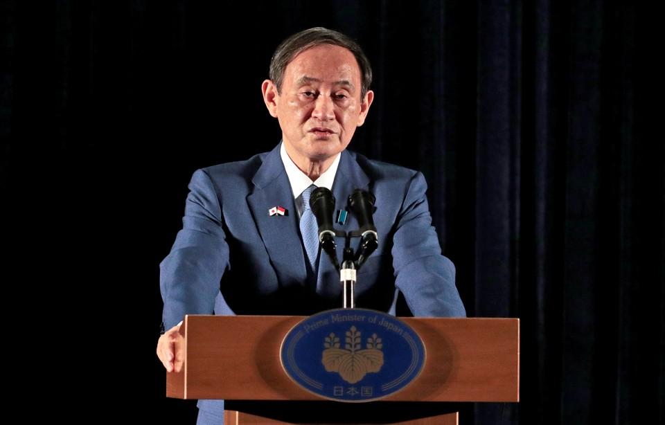 Премьер-министр Японии Ёсихидэ Суга.