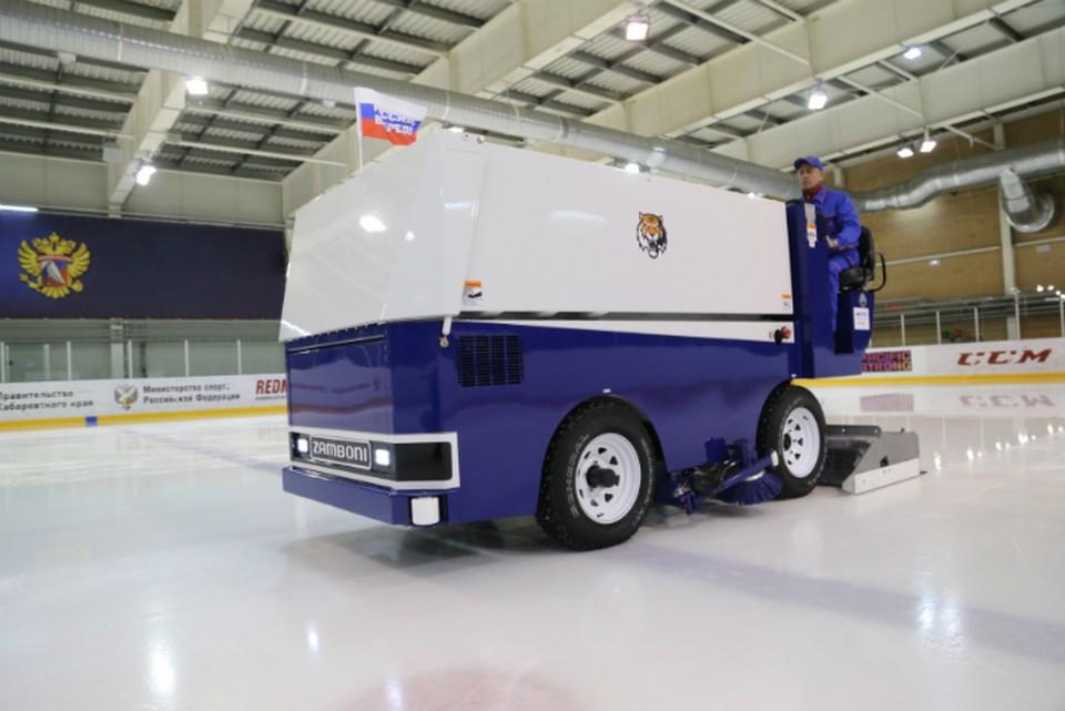 В Хабаровск привезли современное оборудование для развития детского хоккея ФОТО: Министерство физической культуры и спорта Хабаровского края
