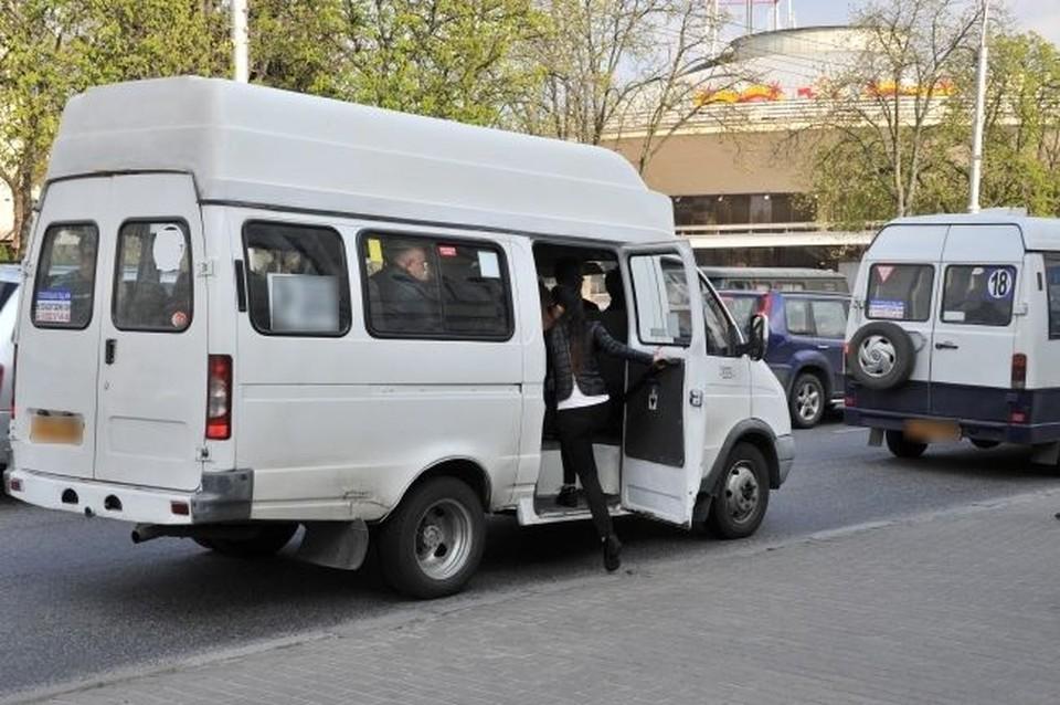 Под Новосибирском девочка сильно ударилась головой об дверь в маршрутке.