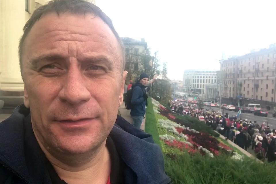 Спецкор «КП» Владимир Ворсобин следит за развитием событий в столице Белоруссии.
