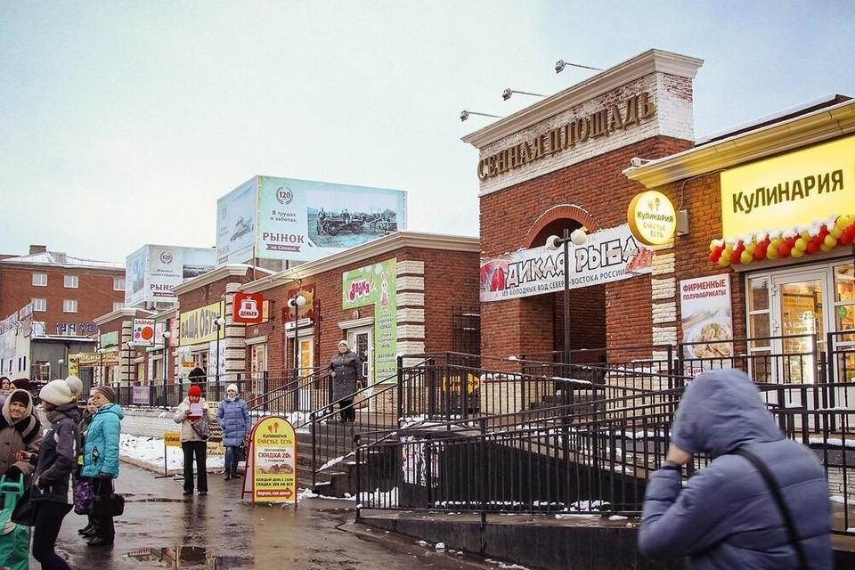 Центральный рынок оцепили в Ижевске из-за бесхозной сумки