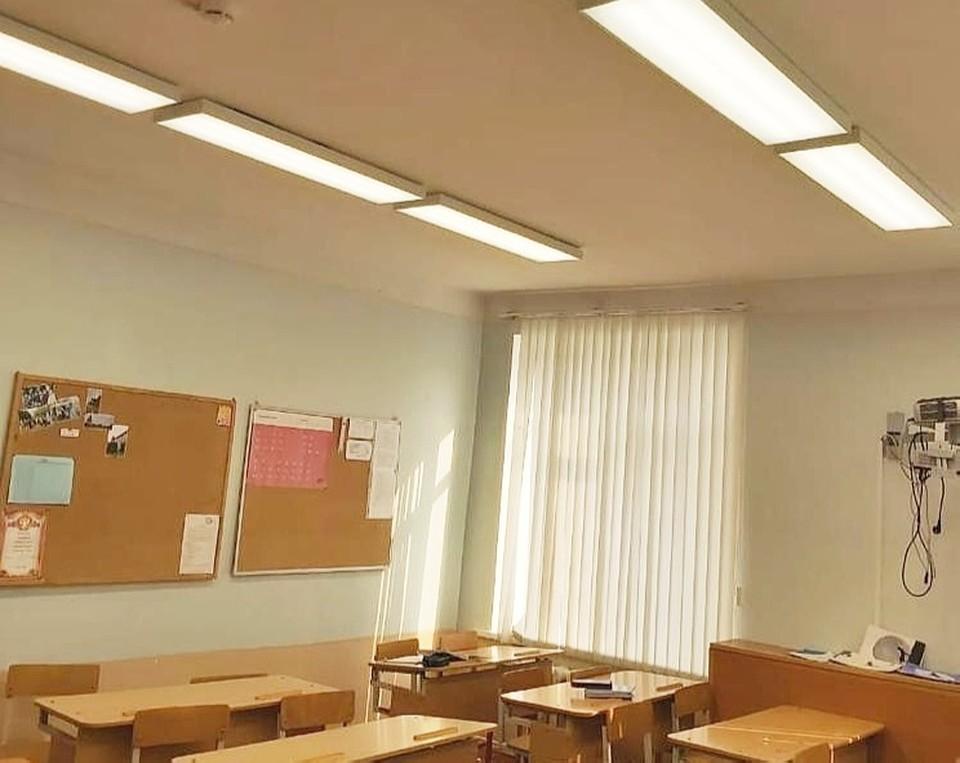 В 8 школах Смоленска заменят освещение. Фото: Администрация Смоленска.
