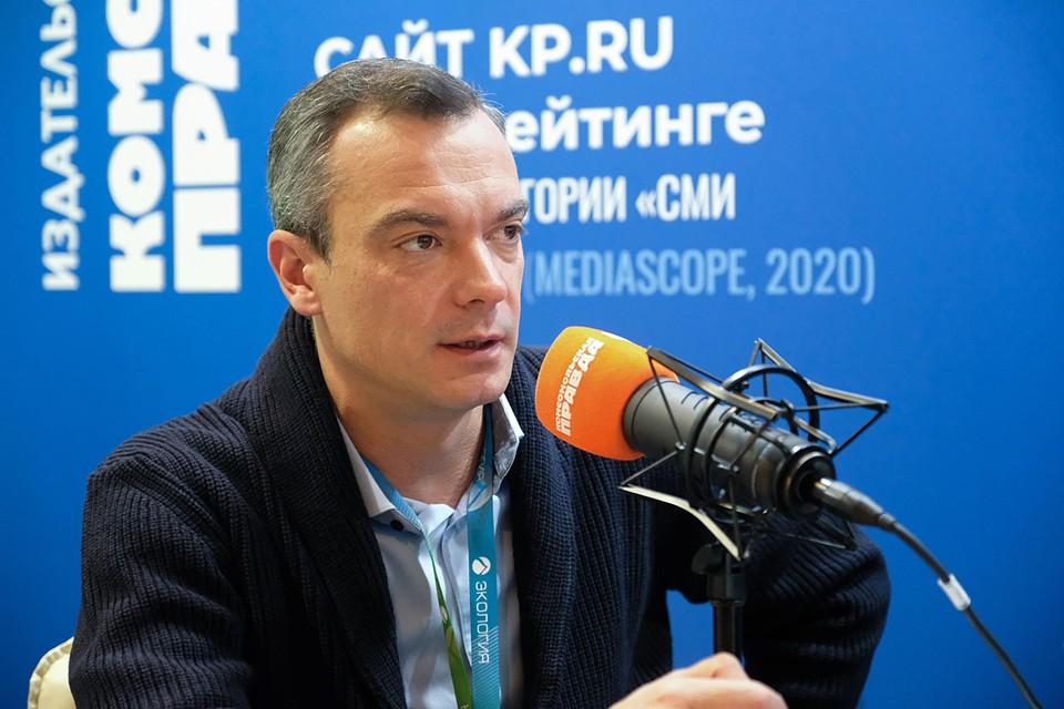 Илья Разбаш, директор Центра развития водохозяйственного комплекса России