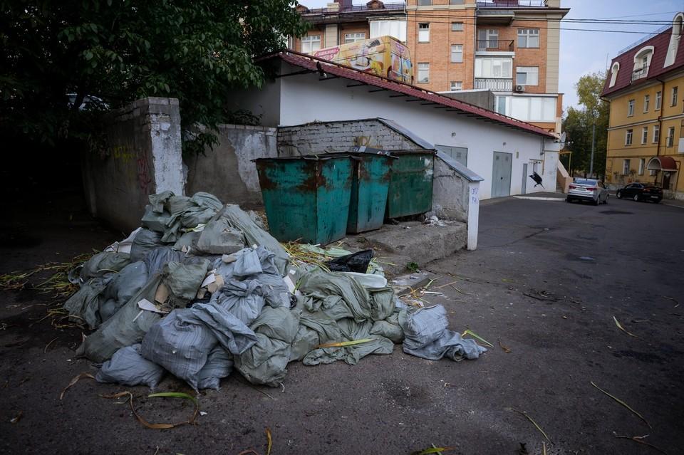 Залежи мусора на контейнерных площадках в Орле и области должны убрать до 1 ноября