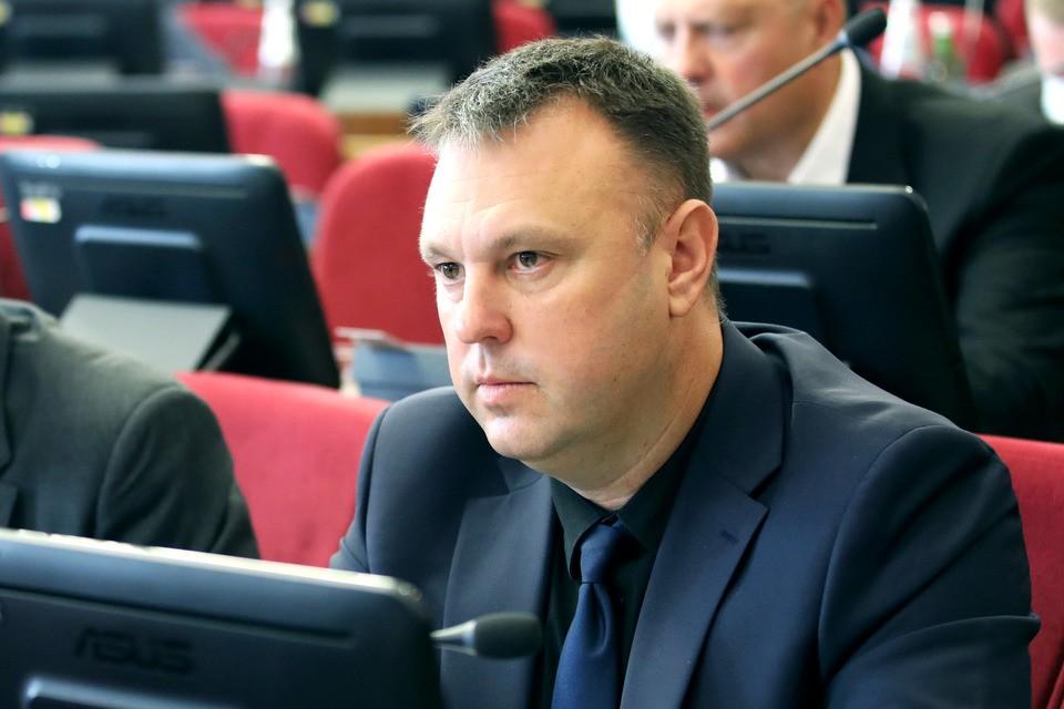 Валерий Назаренко. Фото: Краевая Дума