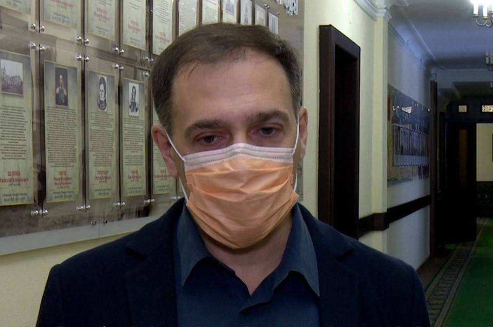 Замгубернатора прокомментировал работу скорой помощи в Кузбассе. ФОТО: кадр видео оперативного штаба Кузбасса