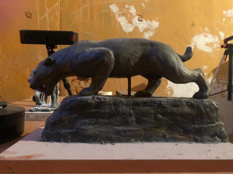 Саблезубый тигр. Фото: Tavrida cave/Пещера Таврида/VK