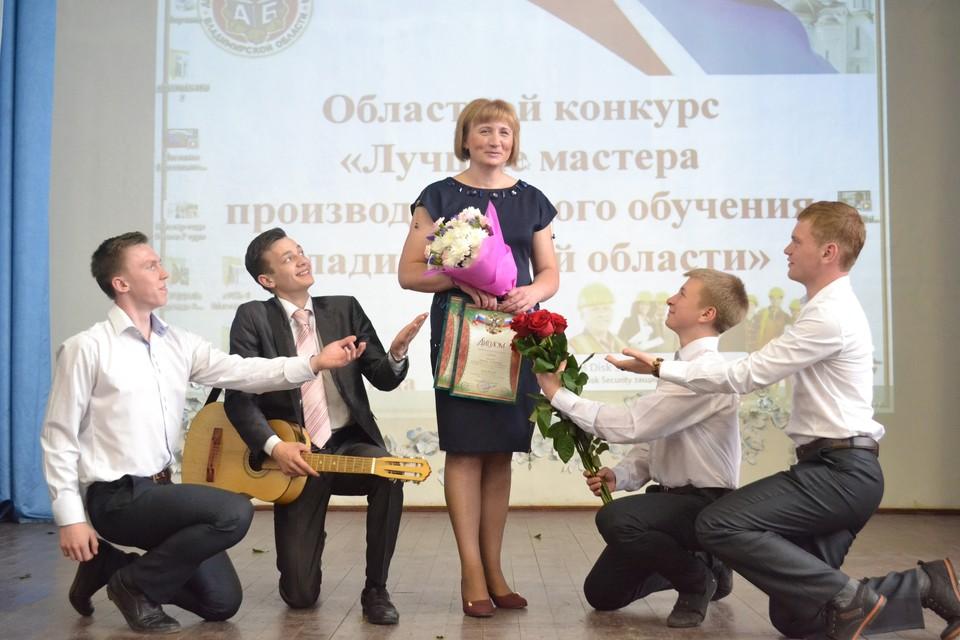 Победительница в номинации «Мастер в кубе» Светлана Круглова, Гусь-Хрустальный.