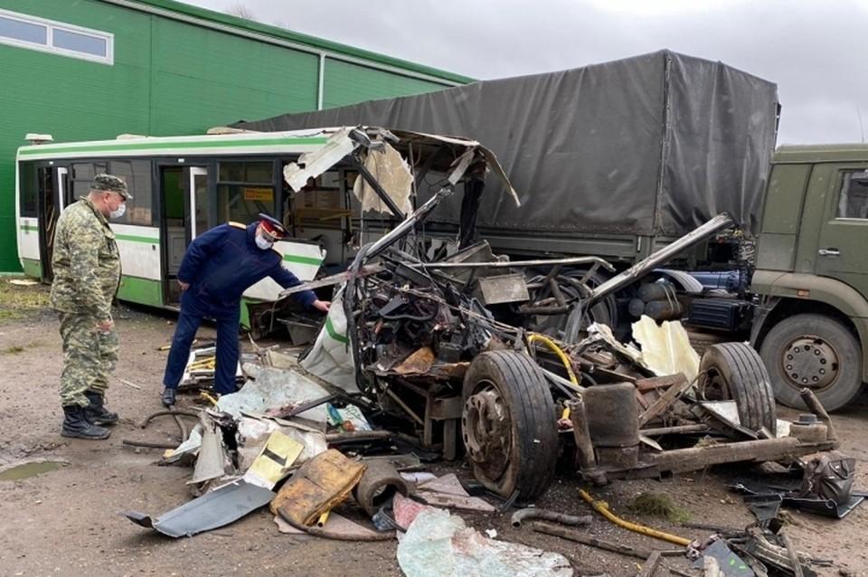 Следком рассказал о ходе расследования смертельного ДТП с автобусом в Великом Новгороде. Фото: sledcom.ru