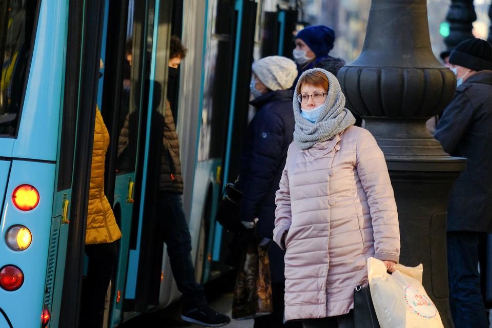 В Петербурге начали действовать новые ограничения с 9 ноября