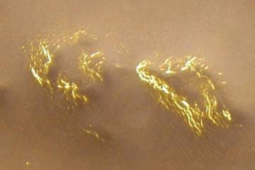 На Марсе найдено золото