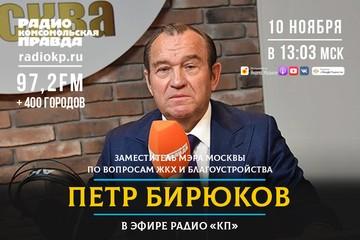 Заместитель мэра Москвы Петр Бирюков: «Пандемия все поменяла, но мы готовы: зимой в домах будет тепло, на дорогах - чисто»