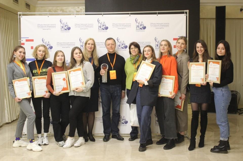 Семь PR-проектов СПбГУПТД победили в конкурсе Crystal Orange Award. Фото предоставлено пресс-службой СПбГУПТД.