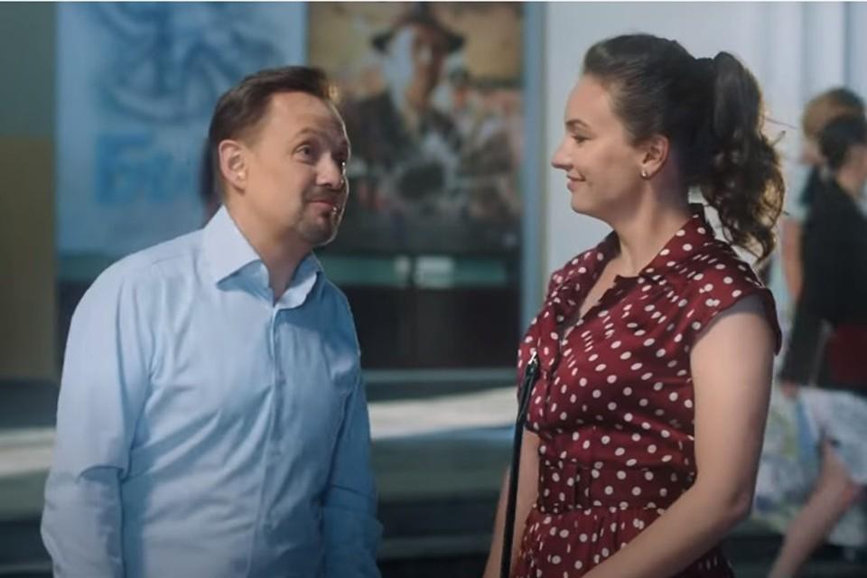 Главные роли в фильме «Уйти нельзя остаться» сыграли Александр Ковтунец и Ольга Павловец