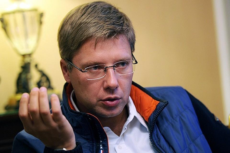 Бывший мэр Риги Нил Ушаков.