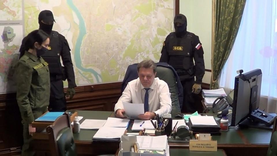 Это уже третий по счету мэр Томска, попавший под уголовное дело. Фото: СУ СК РФ по Томской области.