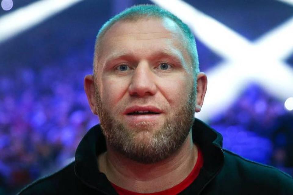 Боец MMA Сергей Харитонов. Фото: Валерий Шарифулин/ТАСС
