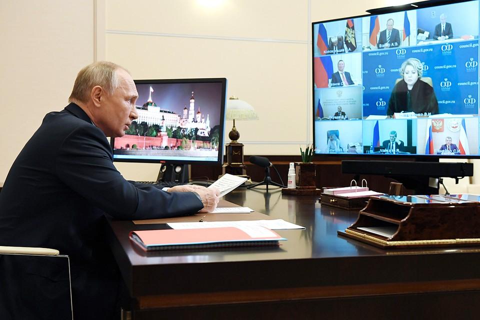 О беде, которая может подстерегать каждого, нужно говорить правду, причем откровенно и жёстко, - призвал Путин. Фото: Алексей Никольский/ТАСС