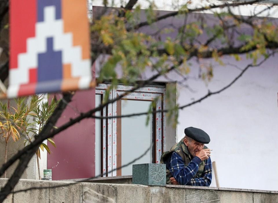 В столице Нагорно-Карабахской Республики Степанакерте.