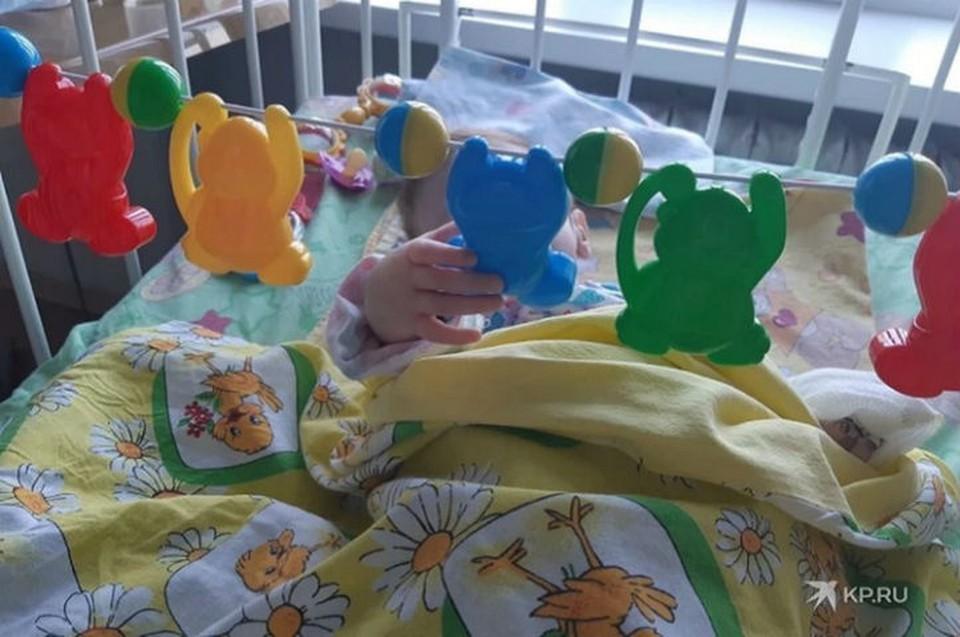 Полина за время нахождения в больнице набрала почти два килограмма Фото: ОДКБ № 1