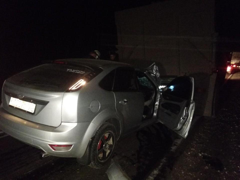 Водитель иномарки погиб на месте аварии