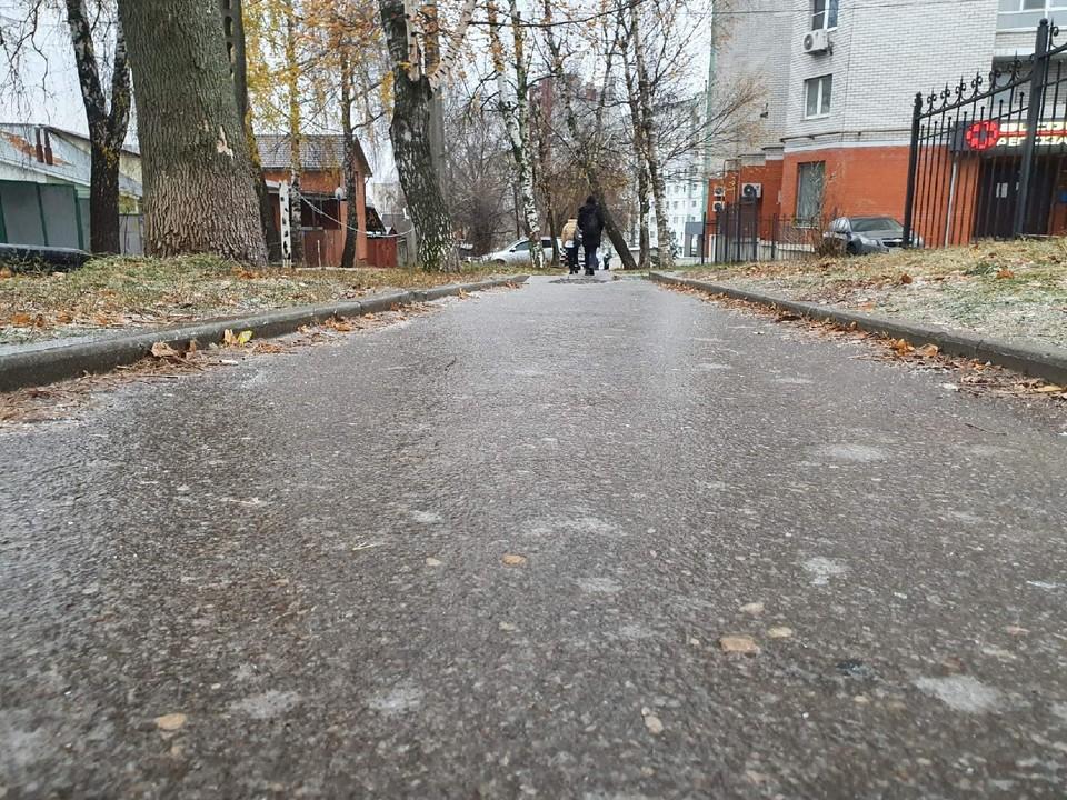В Туле из-за гололедицы пострадали свыше 80 пешеходов