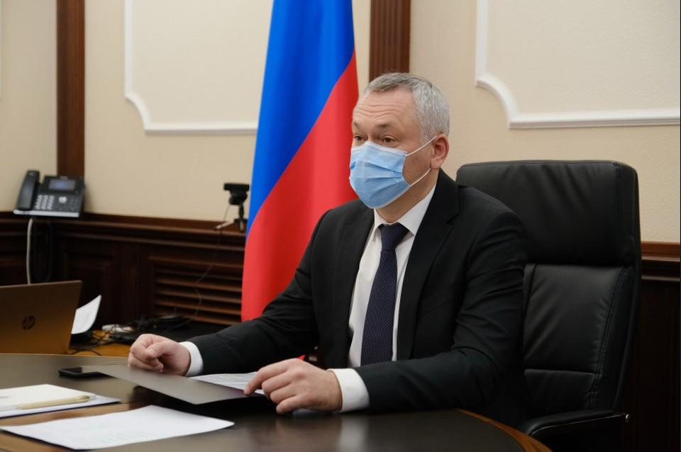 Губернатор провел личный прием. Фото: правительство Новосибирской области.