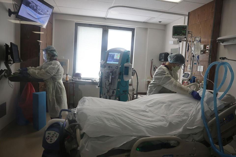 Число случаев заболевания COVID-19 в одном из самых густонаселенных штатов США неуклонно растет