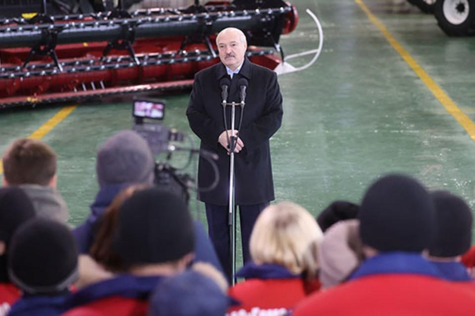 Лукашенко заявил, что договорился с Россией об отсрочке долга в миллиард долларов в этом году. Фото: пресс-служба президента