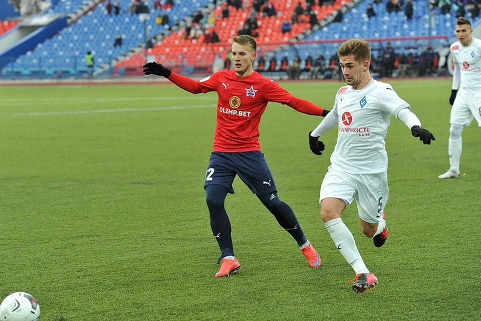 «Крылья Советов» с минимальным счетом обыграли «СКА-Хабаровск» в последнем домашнем матче года